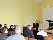 Científicos vietnamitas participan en 25 Encuentro de Blois