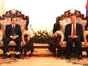 Vietnam y Laos revisan trabajos zonales