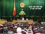Asamblea Nacional continúa enmienda constitucional