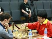 Gran maestro vietnamita en mundial de ajedrez rápido