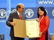 FAO destaca logros vietnamitas en reducción de pobreza
