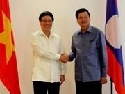 Vietnam y Laos impulsan cooperación fronteriza