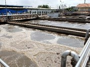 Soc Trang inaugura planta de tratamiento de residuos líquidos