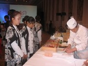 Culinaria y arte en festejos de Ciudad Ho Chi Minh con Japón