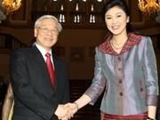 Prensa tailandesa resalta visita de Nguyen Phu Trong