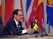 ASEAN determina creación de Comunidad regional en 2015