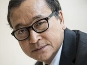 Rey cambodiano indulta a líder opositor Sam Rainsy