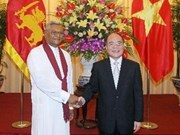 Vietnam y Sri Lanka fomentan cooperación parlamentaria