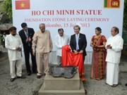 Erigen monumento a Ho Chi Minh en Colombo