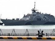 Singapur y EE.UU. realizan ejercicio naval