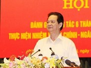 Premier urge cumplir meta anual de ingreso presupuestario