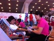 Concluye campaña de donación de sangre