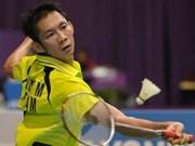 Badmintonista vietnamita avanza en torneo de Taiwán