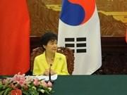 Presidenta sudcoreana comienza visita a Vietnam