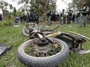Policías tailandeses muertos en ataque en Sur