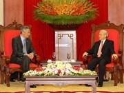 Vietnam y Singapur fomentan cooperación multifacética