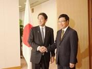 Japón proporcionará 500 millones de USD a Vietnam