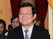 Presidente vietnamita inicia gira por Hungría y Dinamarca