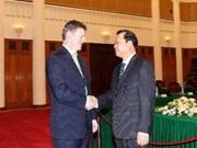 Conversación de vicepremieres exalta lazos Vietnam-Nueva Zelandia