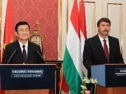 Vietnam atesora amistad con Hungría, afirma presidente