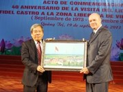Reviven histórica gira de Fidel Castro a Quang Tri