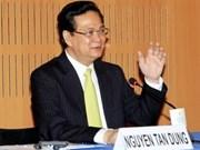 Dialoga premier vietnamita con empresarios franceses