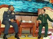 Vietnam y Malasia fortalecen relaciones militares