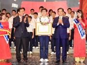 Honran a destacados jóvenes vietnamitas
