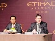 Etihad Airways abre ruta directa Ho Chi Minh - Abu Dhabi