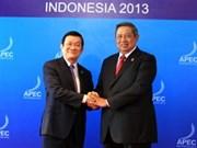 Presidente vietnamita inicia actividades en APEC