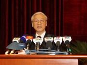 Concluye octava plenaria del Comité central partidista