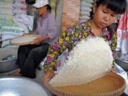 Doble aumento de exportación arrocera cambodiana