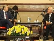 Ciudad Ho Chi Minh fortalece cooperación con Berlín