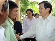 Dirigentes vietnamitas dialogan con votantes