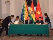 Vietnam considera fomento de nexos con Bolivia