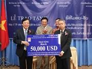 Elogia ministro aporte de Facultad de Vietnamita en Laos