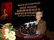 Dialogan dirigentes vietnamitas con votantes