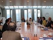Parlamentos de Vietnam y Noruega fortalecen cooperación