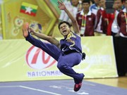 Wushu vietnamita sobrecumple meta de oro en SEA Games