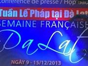 Comienza Semana Francesa en ciudad central vietnamita