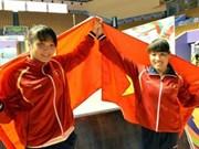 Vietnam en segundo lugar en tabla de posiciones de SEA Games