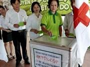 Recaudan fondos para víctimas filipinas del tifón Haiyan