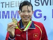 Rompe nadadora vietnamita récord de Sudeste de Asia