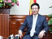 Vicepremier destaca importancia de asuntos exteriores