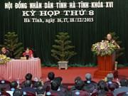 Ha Tinh urgida a centrarse en desarrollo industrial