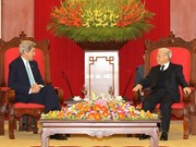 Dirigentes vietnamitas reciben al canciller estadounidense
