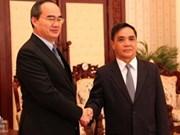 Vietnam trabajará para promover relaciones con Laos