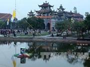 Congratulaciones a fieles católicos de Ninh Binh
