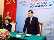 Presidente vietnamita participa en reunión diplomática