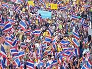 Continúan en Tailandia manifestaciones antigubernamentales